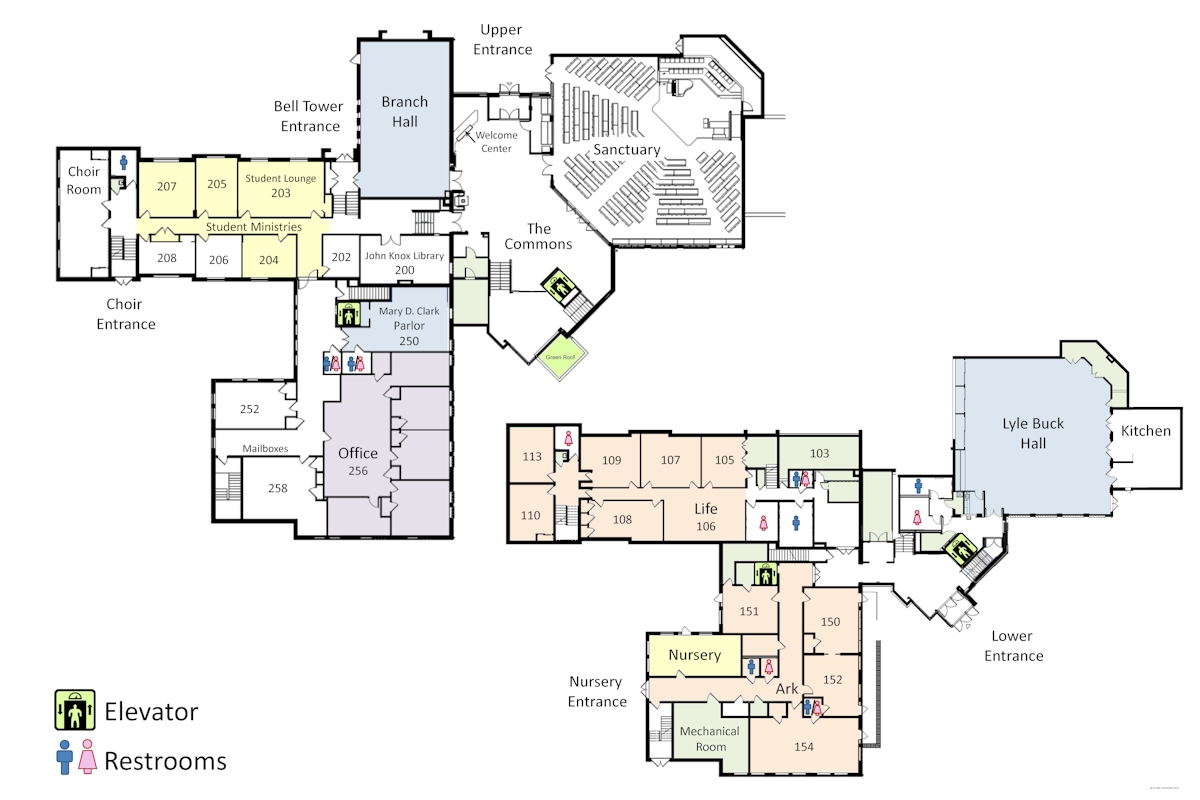 FPCHC Floor Map 4