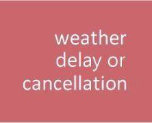 Weather Cancellations – March 22, 2018