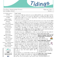 Tidings February 2017
